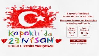 """""""KAPAKLI'DA 23 NİSAN"""" KONULU RESİM YARIŞMASI DÜZENLENECEK"""