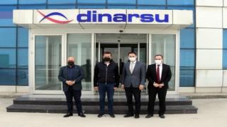 KOMŞU PAKET KAMPANYASINA DİNARSU'DAN DESTEK