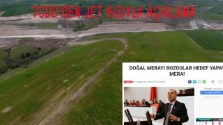TCDD'DEN HABERİMİZE AÇIKLAMA