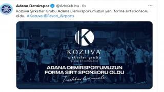 KOZUVA, ADANA DEMİRSPOR'A SPONSOR OLDU