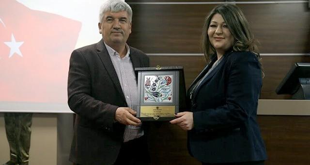 KAPAKLI'DA 51 MECLİS ÜYESİNE PLAKET TAKDİMİ