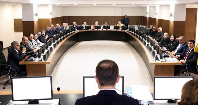 ÇERKEZKÖY BELEDİYESİ'NDE 2014-2019 DÖNEMİNİN SON MECLİS TOPLANTISI YAPILDI